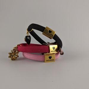NWOT Juicy Couture Hair Ties/Arm Bands